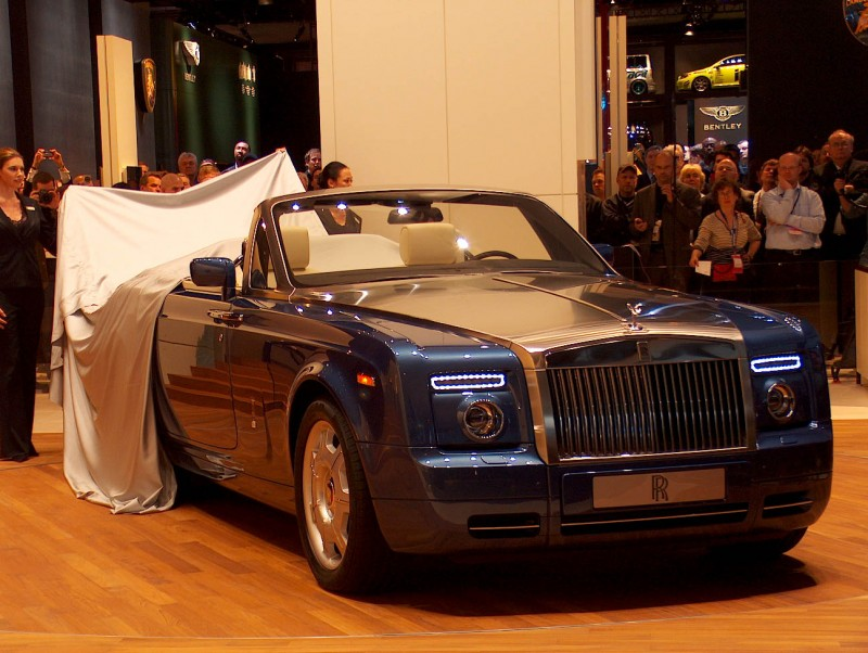 Rolls-Royce Phantom Drophead Coupe 2007
