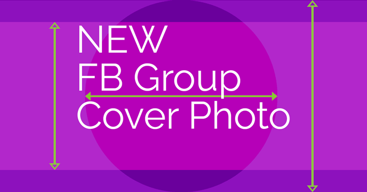 The Facebook group cover photo size just changed. It crops differently on every device, so you